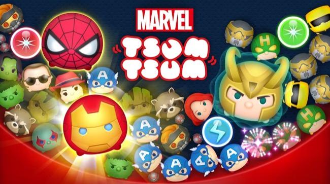 《Marvel Tsum Tsum》日本抢先上架漫威超级英雄杀入手游!